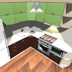 Кухня Техно-1